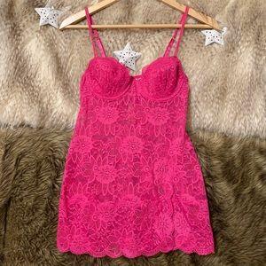 Victorias Secret Pink Lace Lingerie